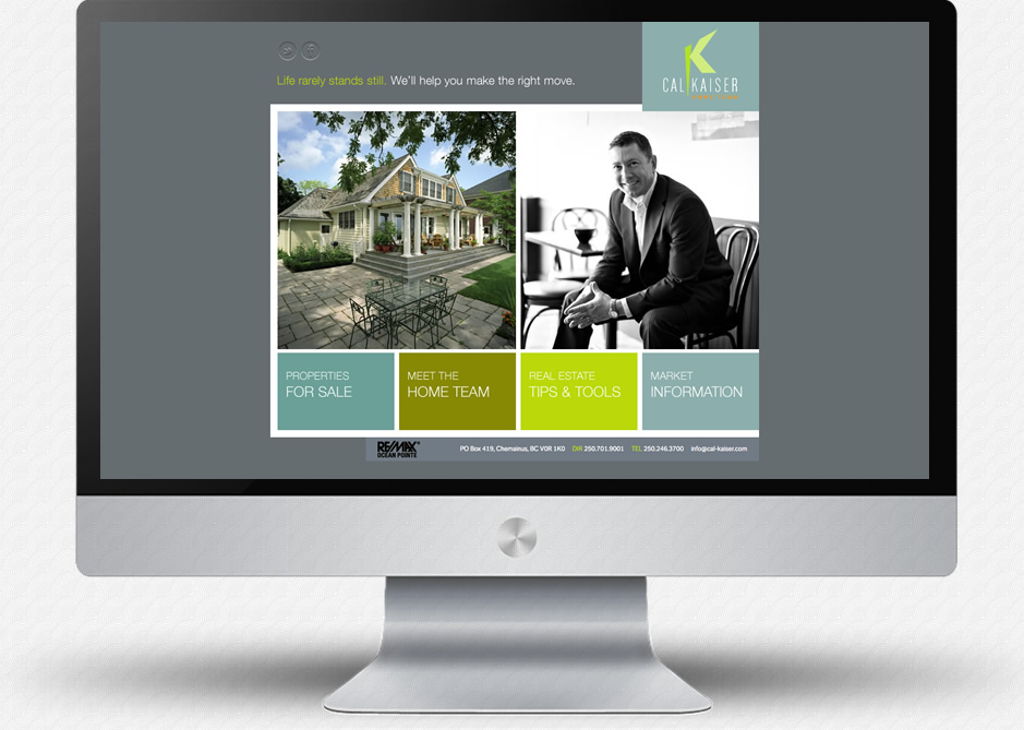 Cal Kaiser Website: Home Page