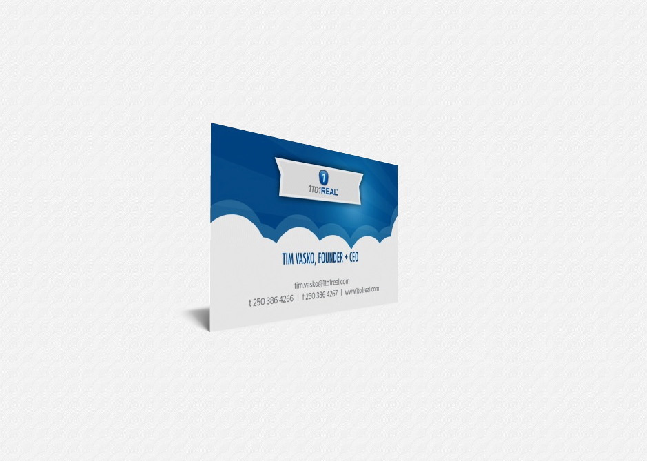 1to1Real Business Card