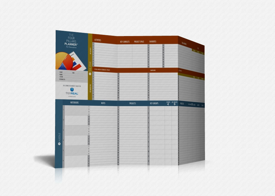 1to1Real Four Pillars Planner