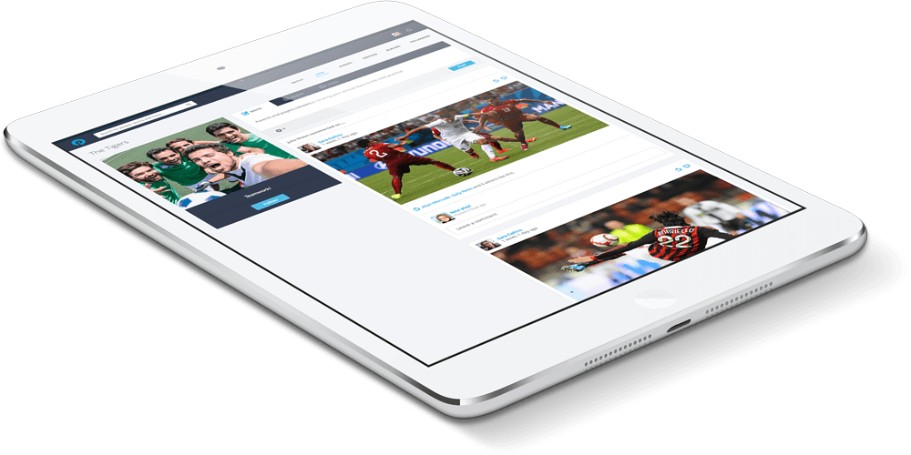 PlayyOn App Tablet (responsive)