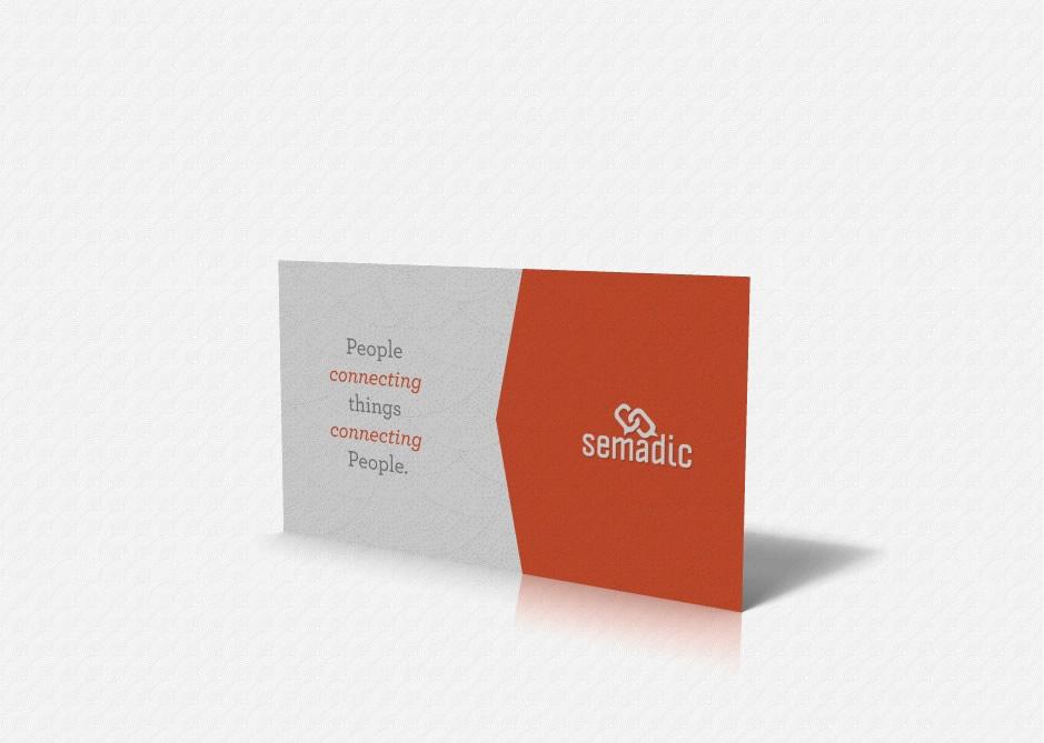 Semadic Business Card: Back