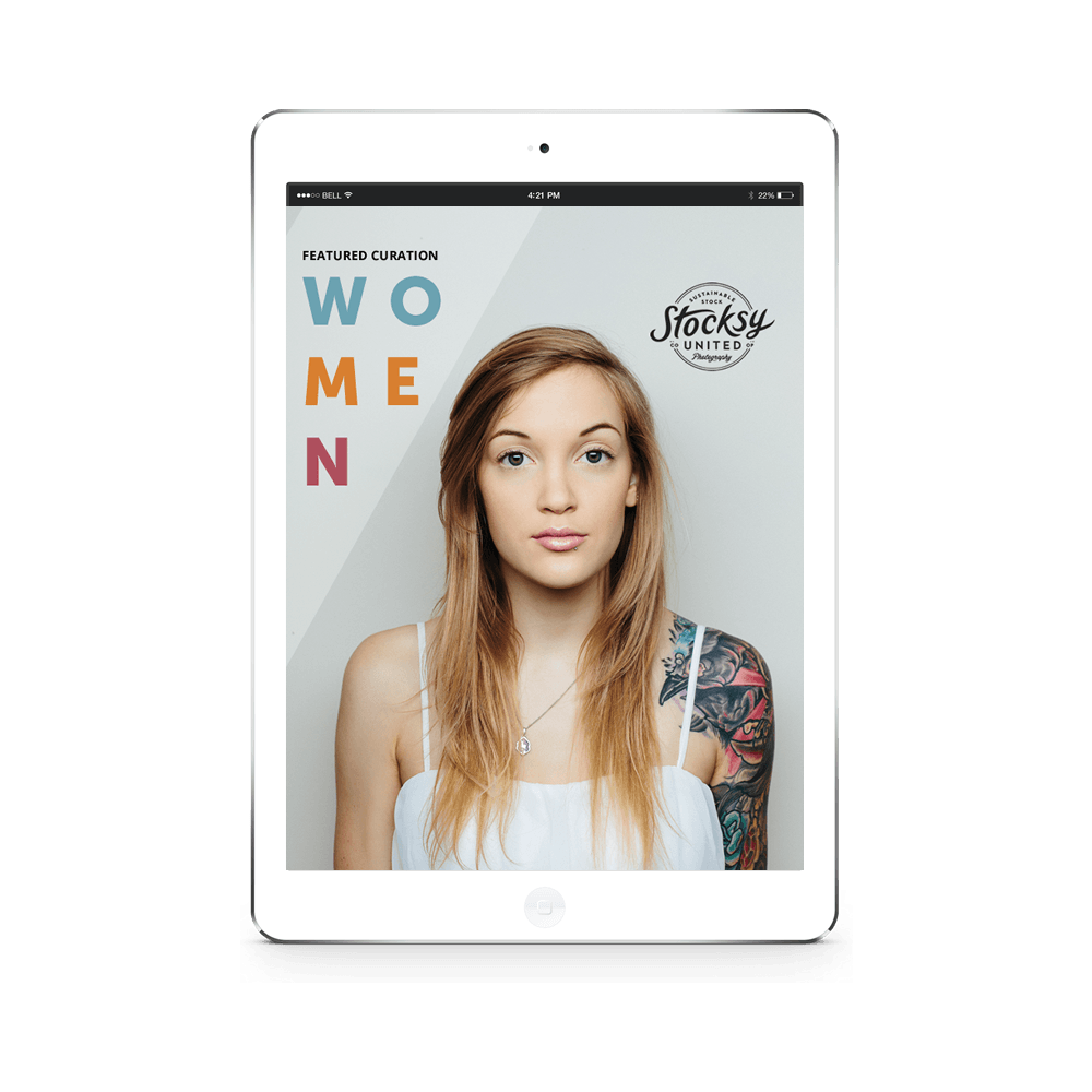 Women Newsletter Template Concept