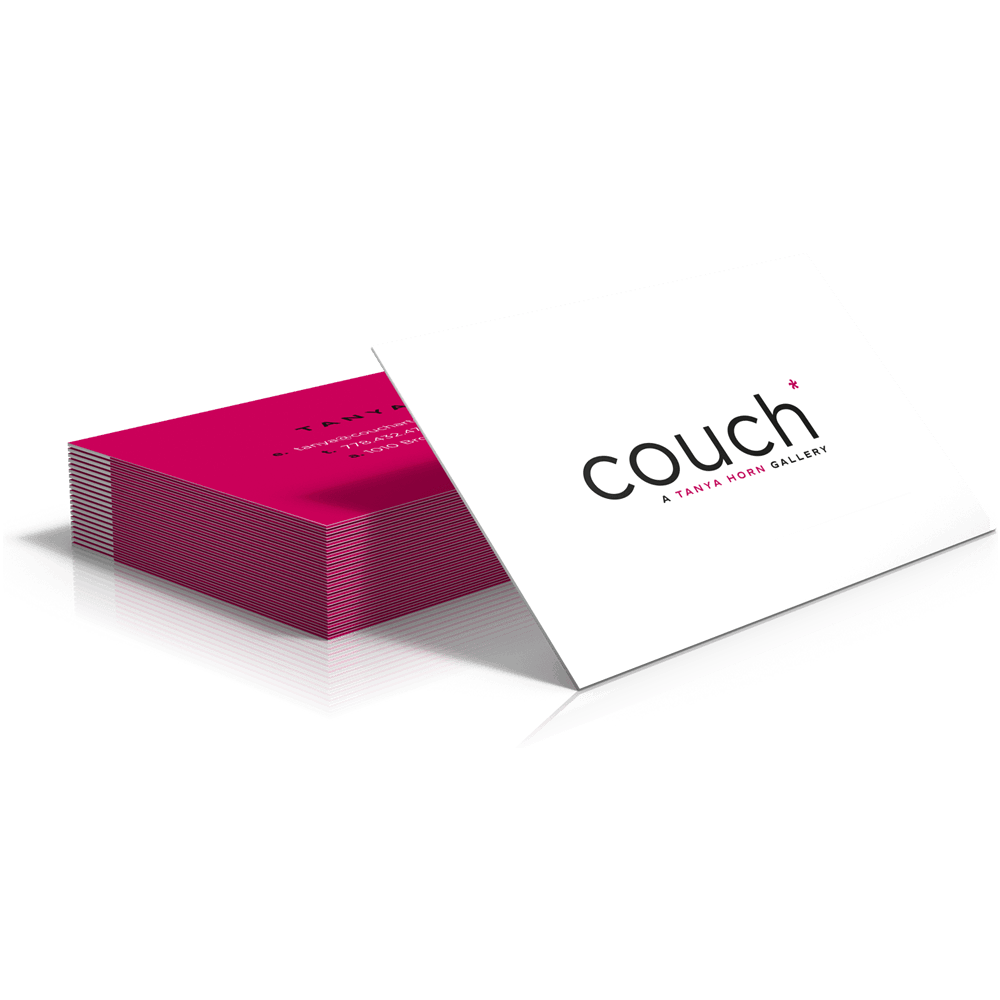 couch* branding and cards